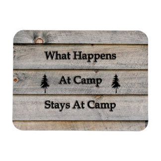 Ímã O que acontece em estadas do acampamento no
