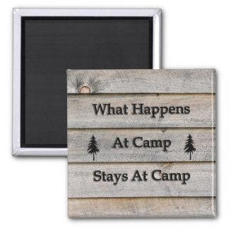 Imã O que acontece em estadas do acampamento no