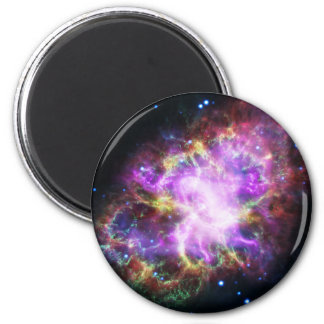 Imã O raio X de Chandra na nebulosa de caranguejo