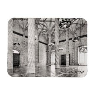 Ímã O Salão das colunas em Valência