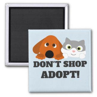 Imã O salvamento do cão do gato do animal de estimação