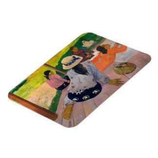 Ímã O Siesta por mulheres Tahiti de Paul Gauguin