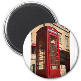 Imã O Telephonebox vermelho