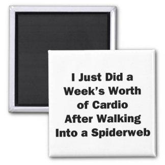 Imã O valor da semana de cardio-