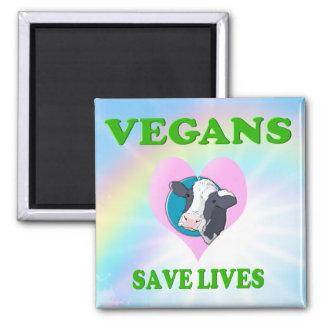 Imã O vegetariano/Vegans engraçados salvar vidas