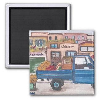Imã O vendedor recorrido siciliano - ímã