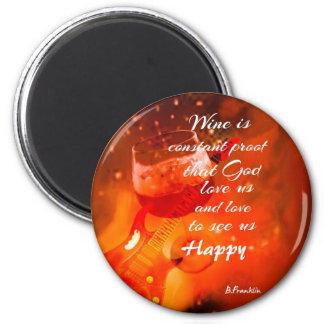 Imã O vinho faz-nos felizes