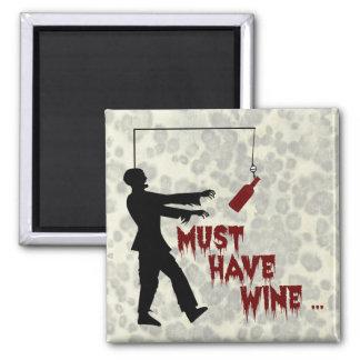 Imã O zombi deve comer o vinho