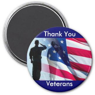 Imã Obrigado tributo das forças armadas dos veteranos