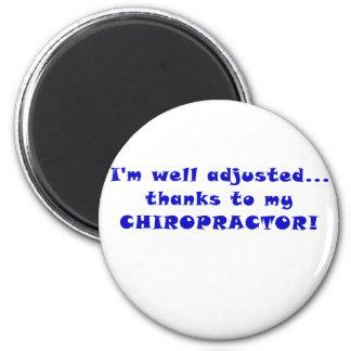 Imã Obrigados Im ajustados poço a meu Chiropractor