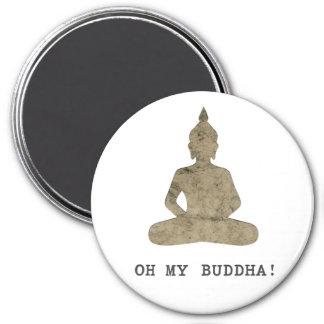 Imã OMB oh minha silhueta engraçada de Buddha