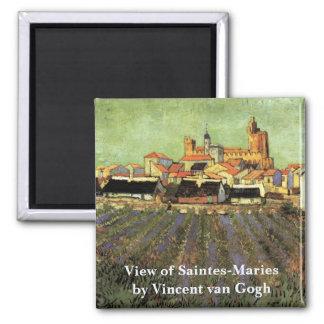 Imã Opinião de Van Gogh de Saintes Maries, belas artes
