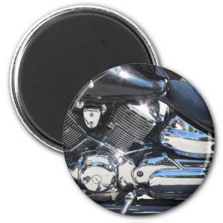 Imã Opinião lateral cromada motocicleta do detalhe do