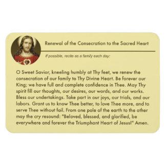 Ímã Oração sagrado da renovação da consagração de