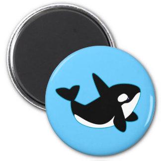 Imã Orca bonito (baleia de assassino)