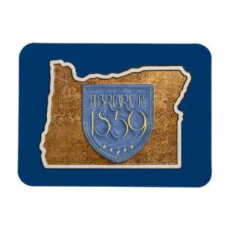 Ímã Oregon Est. O 14 de fevereiro 1859