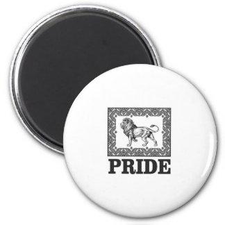 Imã Orgulho extravagante do leão