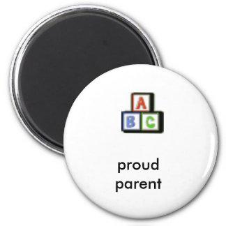 ímã orgulhoso do ABC do pai Imãs