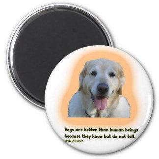 Imã Os cães são melhores do que seres humanos