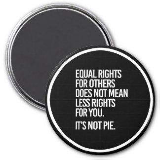 Imã Os direitos iguais não são torta - - Pro-Ciência