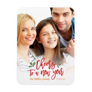 Ímã Os elogios a uma família do feriado do ano novo