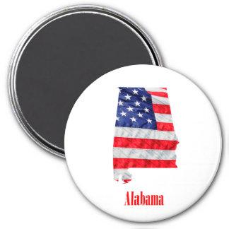 Imã Os Estados Unidos de Alabama da bandeira americana