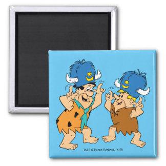 Imã Os Flintstones | Fred & búfalos de água da
