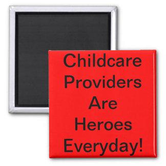 Ímã. Os fornecedores da puericultura são heróis di Ímã Quadrado