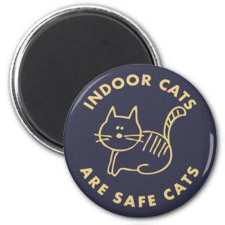 Imã Os gatos internos são gatos seguros