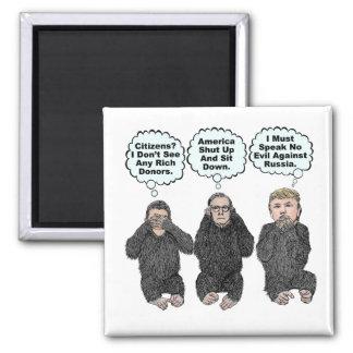 Imã Os macacos do trunfo - trunfo, Ryan, McConnell