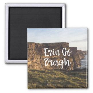Imã Os penhascos Erin de Ireland vão ímã de Bragh