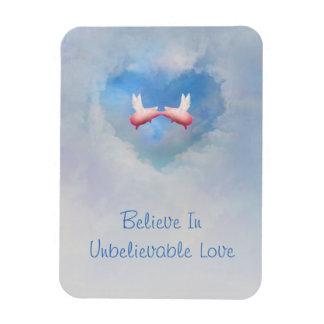 Ímã Os porcos do vôo Beijar-Acreditam no amor