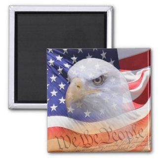 Imã Os símbolos do ímã da liberdade