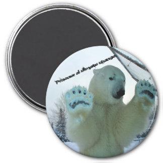 Imã Os ursos polares são prisioneiros das alterações