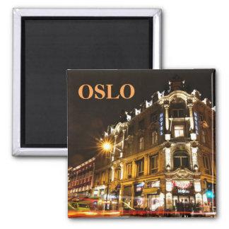 Imã Oslo, Noruega na noite