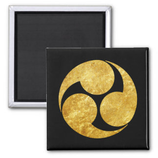 Imã Ouro japonês do falso do clã de Kobayakawa