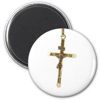 Imã Ouro transversal do Jesus Cristo horizontal