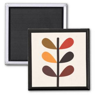 Imã Outono abstrato da planta