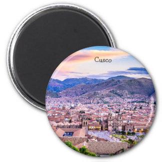 Imã Padrão, ímã redondo Cusco da polegada de 2 ¼