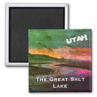 Imã Paisagem do norte do Great Salt Lake, Utá