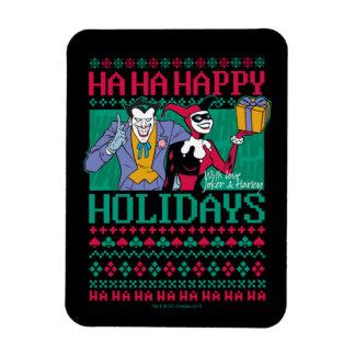 Ímã Palhaço de Batman | boas festas & Harley Quinn