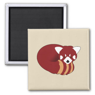 Imã Panda vermelha