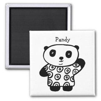 Imã Pandy personalizado a panda