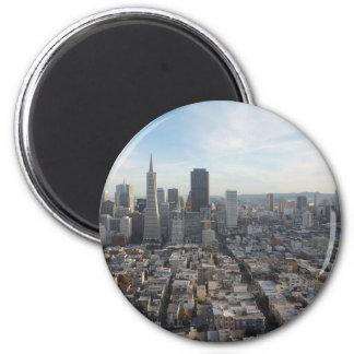 Imã Panorama da skyline de San Francisco