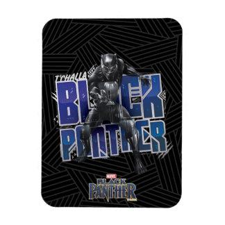 Ímã Pantera preta | T'Challa - gráfico da pantera