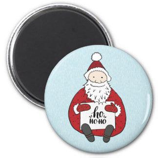 Imã Papai noel bonito que tira o Natal