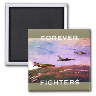 """Imã """"Para sempre trio dos lutadores"""" de aviões de"""