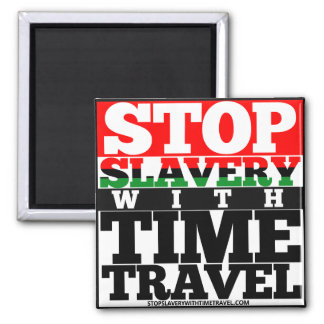 Imã Pare a escravidão com o ímã do viagem do tempo