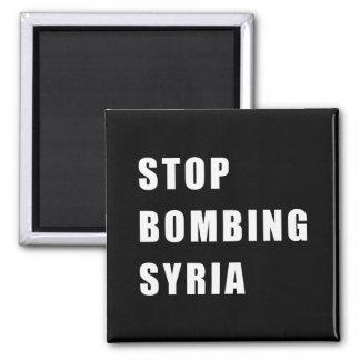 Imã Pare de bombardear Syria