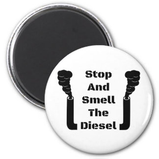 Imã Pare e cheire o diesel